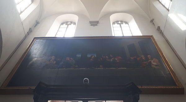Cuadro ultima cena - Catedral de Turín