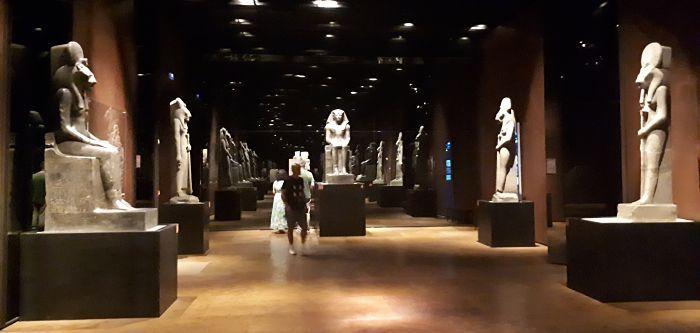 estatuas Museo Egipcio Turín
