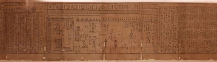 papiro museo egipcio Turín