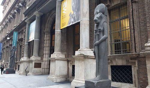 Museo Egipcio fachada