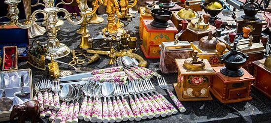 mercado antiguedades Turín
