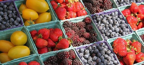 mercado frutas de temporada Turín