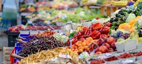 mercado productos del campo Turín